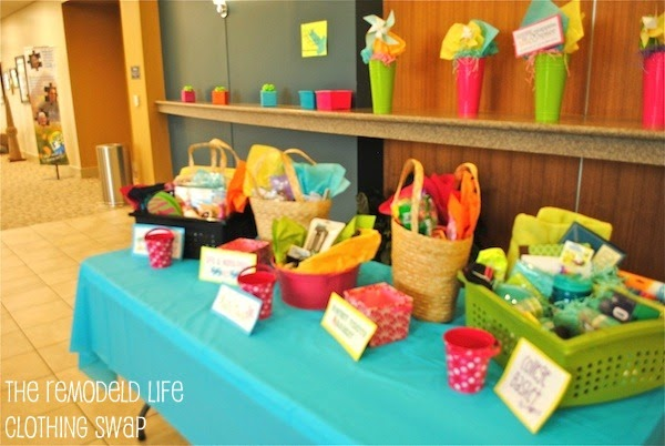 The Remodeled Life Girls Ministry Event Clothing Swap