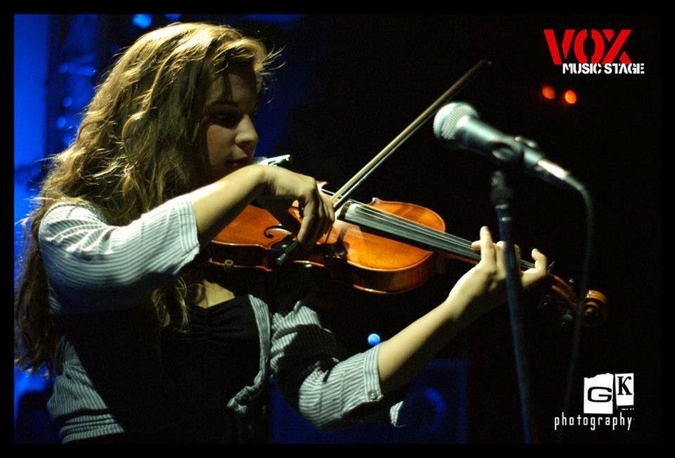 Η Βιολέττα στο VOX