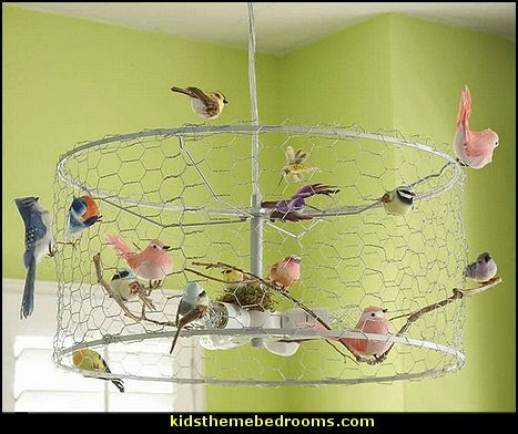 Birdcage Bedroom Ideas   Decorating With Birdcages   Bird Cage Theme Bedroom  Decorating Ideas   Bird