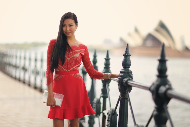 Sydney NYE 2014, Inspire, NYE Outfit, New Years Eve style, Red Dress, Three Floor, Topman, Fallen Broken Street, MNO.logie, Clear glass clutch, Raymond Weil, The Horse Watch, The Horse Leather Goods, Wanderlust and Co,