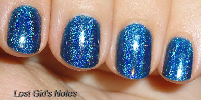 hits apolo holographic nail polish swatches and review