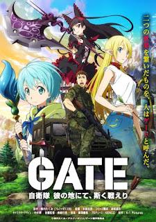 Gate: Jieitai Kanochi nite, Kaku Tatakaeri Capitulo 1