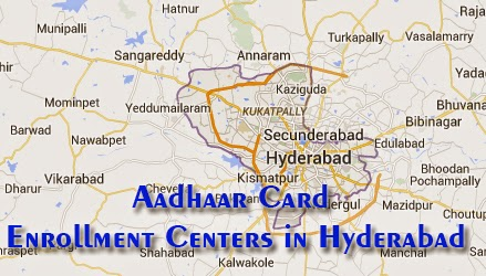 Aadhaar Card Enrollment Centers in Hyderabad