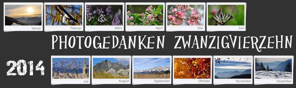 Photogedanken ZWANZIG VIERZEHN (in Zahlen 2014)