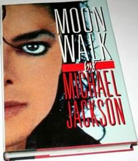 Capa do Livro Moonwalk - Michael Jackson