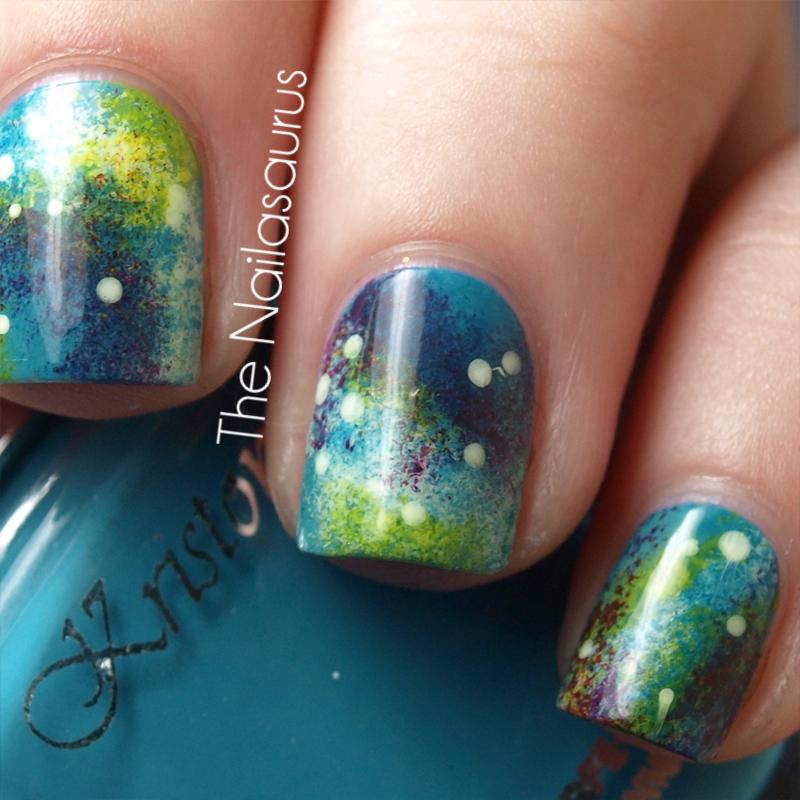 Day 19: Galaxy Nails