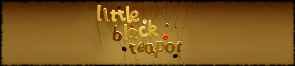 little black teapot