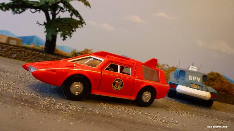 captain scarlet vehicles