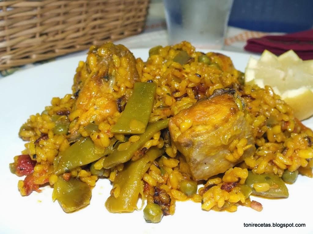 La cocina de toni arroz con pollo y jud as verdes for Cocinar judias verdes