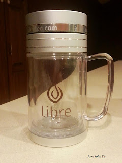 Empty Libre Tea Mug