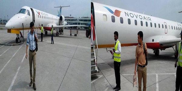 Novo Air International Flight
