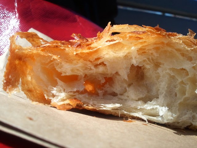 Clafouti croissant - Bready, chewy