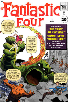 Fantastic Four #1, Jack Kirby, monster