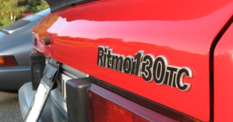 Autodepocatestdrive Test Drive Fiat Ritmo Abarth 130tc