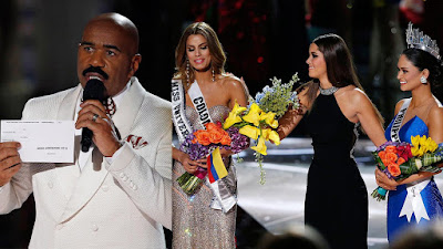 Host of the Miss Universe 2015 announced the wrong winner