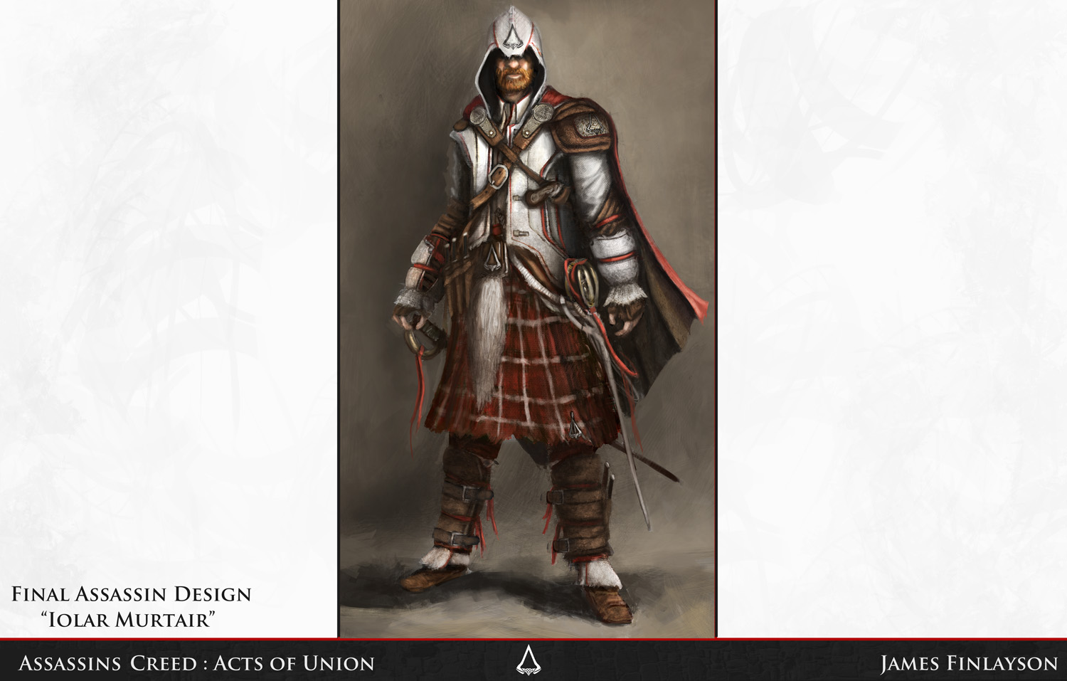 James Finlayson Concepts: Assassins Creed university project