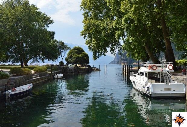 Riva del Garda, canali nei pressi della Rocca