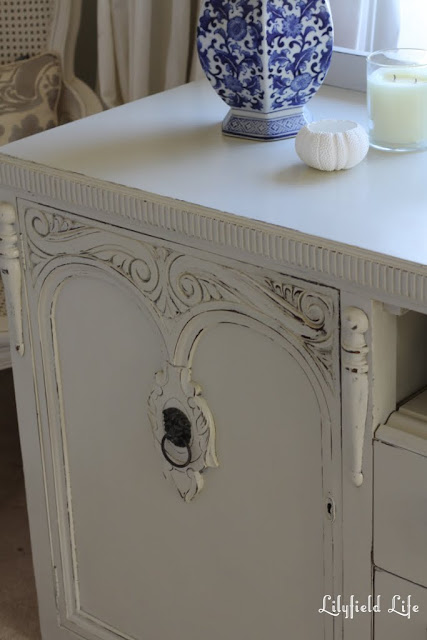 beautiful ornate detail brought to life by distressing , Lilyfield Life