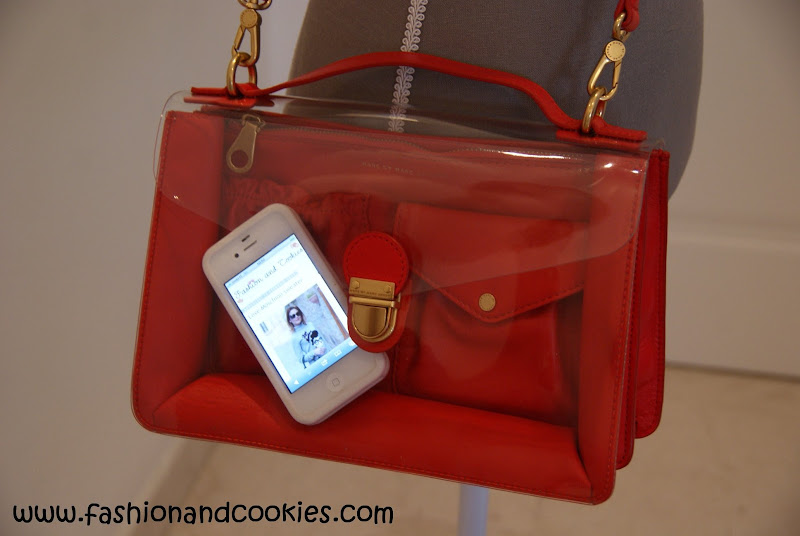 See thru bags, Marc by Marc Jacobs clear front bags, Fashion and Cookies