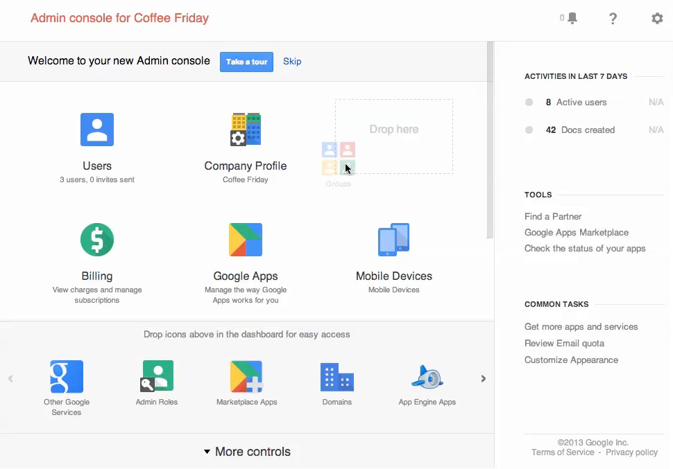 Official google cloud blog new google admin console for Google consule