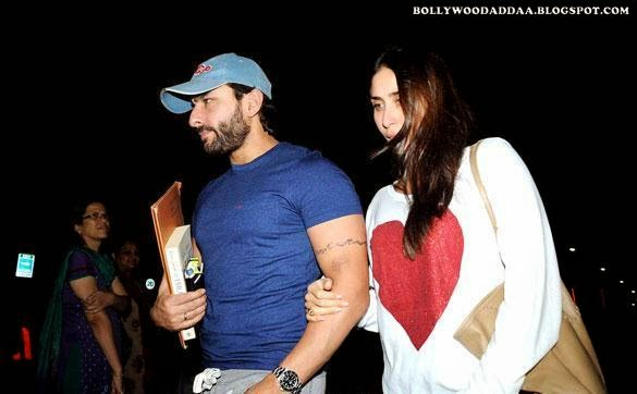 Saif ali khan kareena kapoor khan latest hot pics without make-up kareena kapoor khan tight cameltoe pants