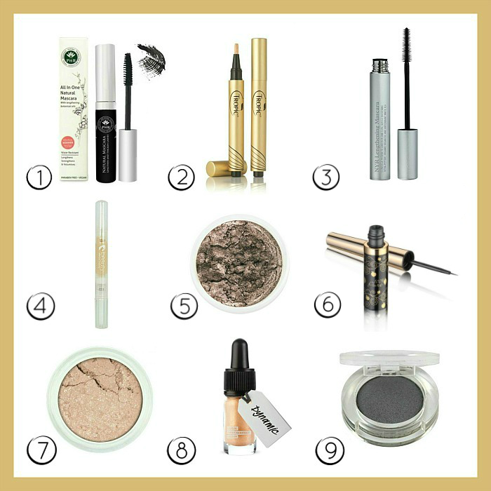 Natural and Cruelty-Free Eye Make-up