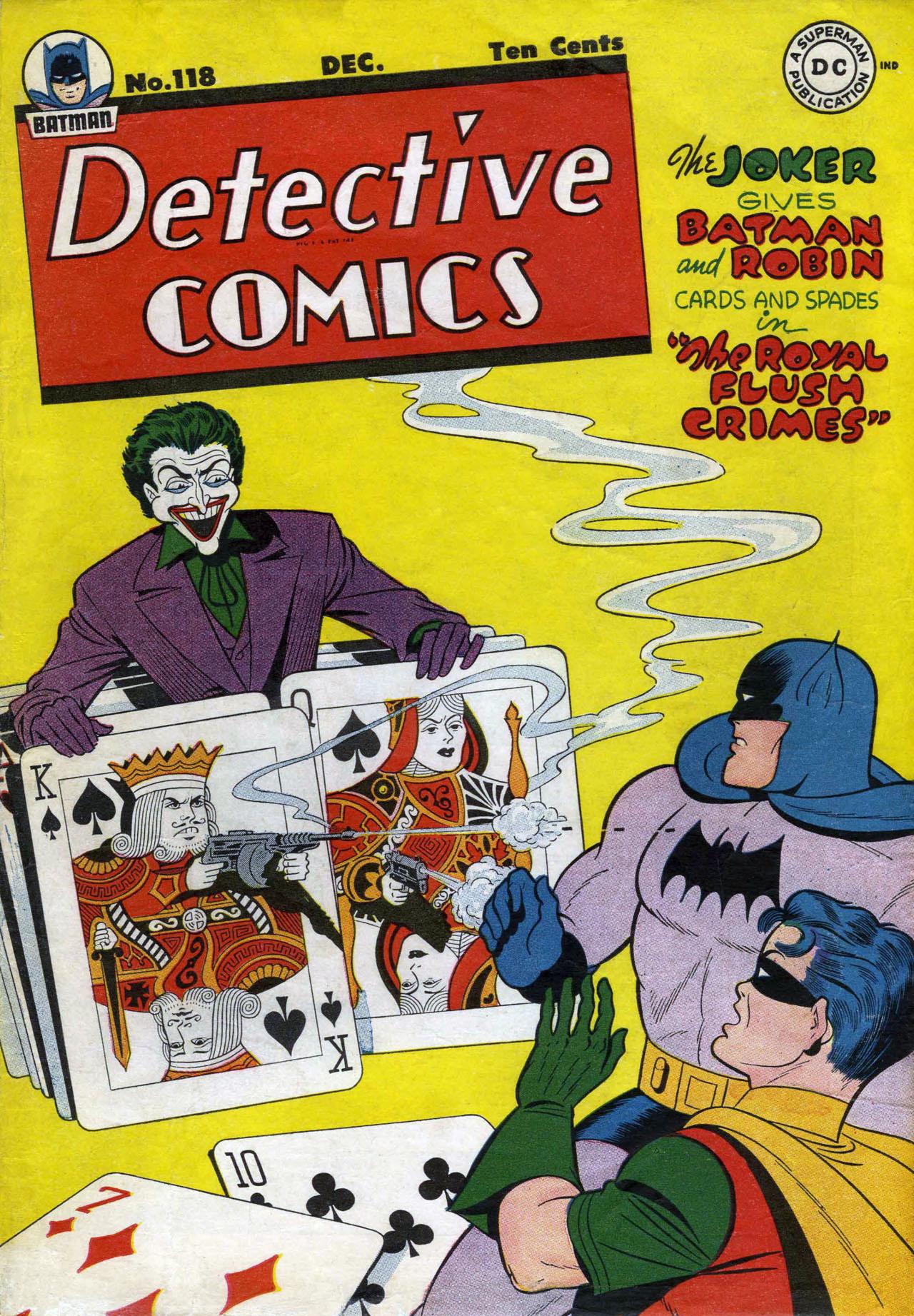 Detective Comics (1937) 118 Page 1