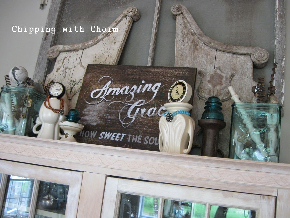 Chipping with Charm: Repurposed Vase Ladies...http://www.chippingwithcharm.blogspot.com/