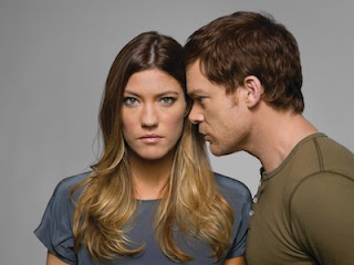 Jennifer Carpenter and Michael C Hall in Dexter 7