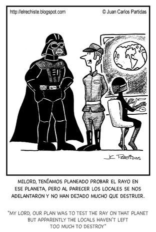 caricatura Darth Vader
