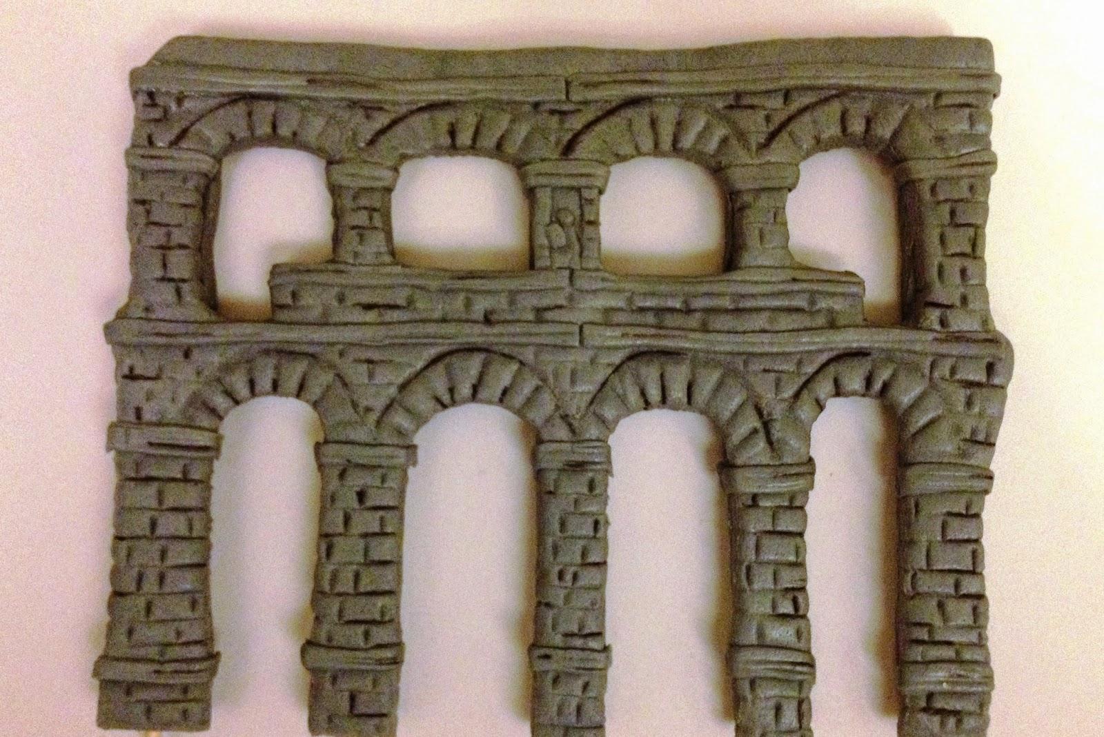 tarta fondant; tarta acueducto de segovia; Segovia; segovia; acueducto; tarta; fondant