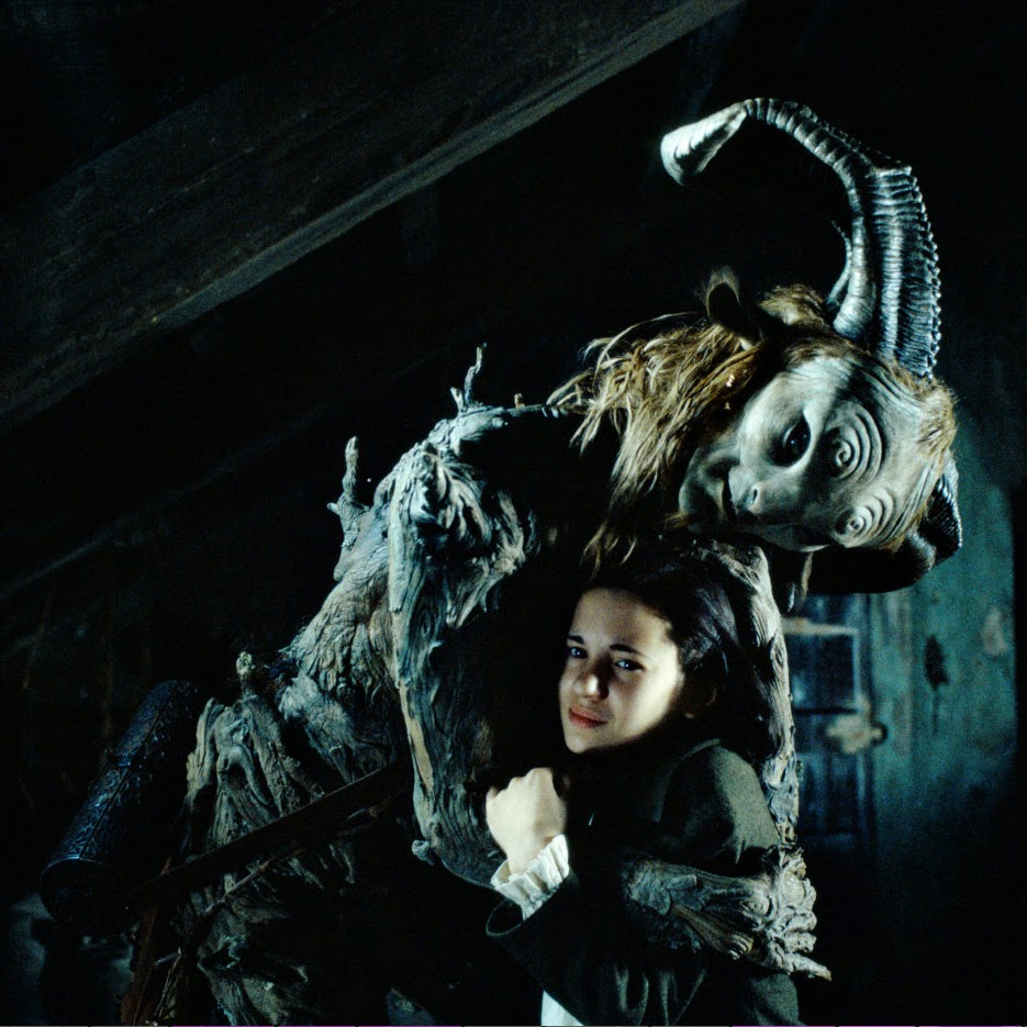 Pan's Labyrinth... scary faeries...