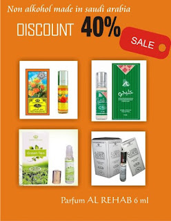 Promo Diskon Parfum Al Rehab.
