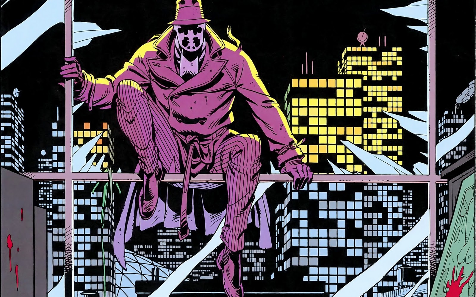an analysis of rorschach a character in the watchmen a comic book series by alan moore This chapter focuses on the character of rorschach  and as we will see many more times in watchmen – alan moore  watchmen: chapter v - complete annotations.