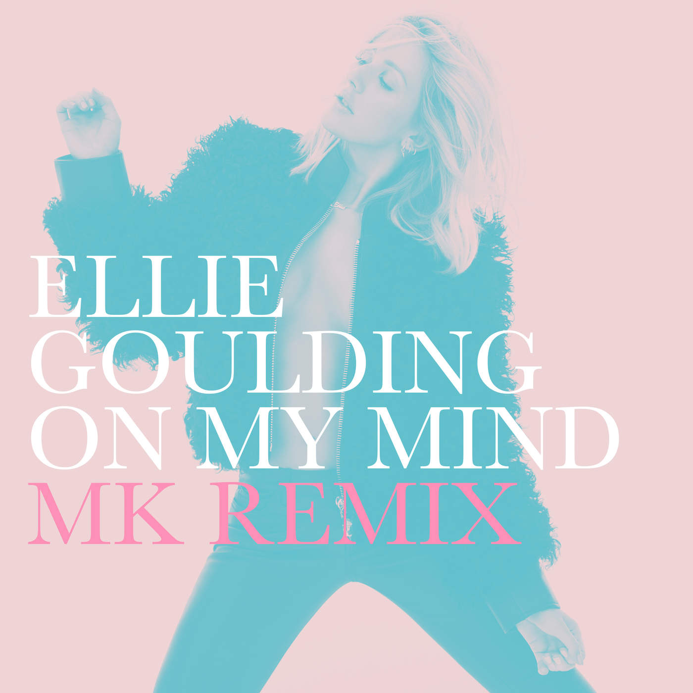 Ellie Goulding - On My Mind (MK Remix) - Single Cover