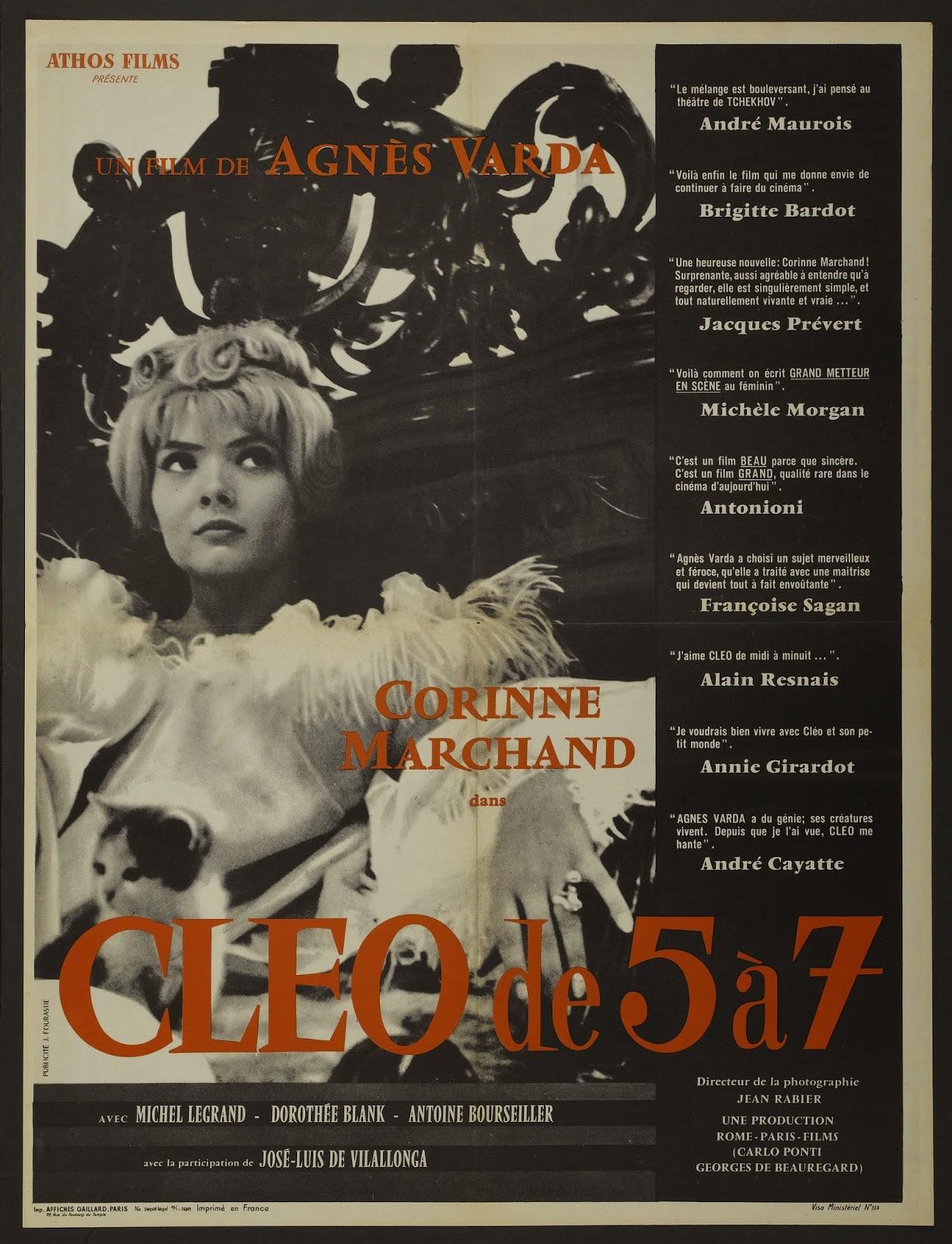 Últimas películas que has visto - (Las votaciones de la liga en el primer post) - Página 13 CLEO+DE+5+A+7+-+French+Poster+1