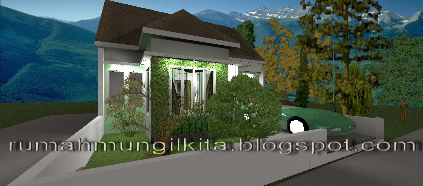 Renovasi Rumah Tipe 21 Tanah 90 m2