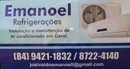 EMANOEL REFRIGERAÇÕES EM NOVA CRUZ