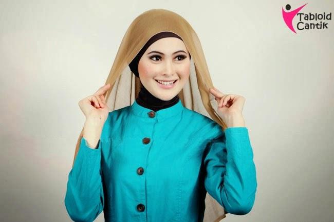 Cara Memakai hijab Segi Empat Terbaru 2018