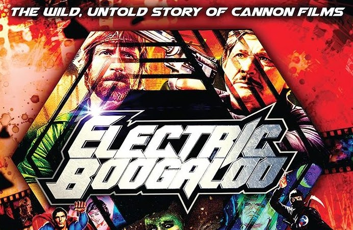 """""""Electric Boogaloo: The Wild, Untold Story of Cannon Films"""" (2014) de Mark Hartley."""
