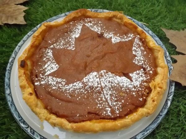 Pumpkin pie aux noix