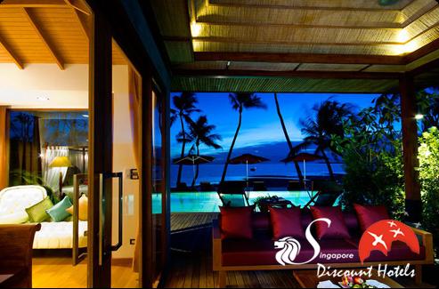 Tango Luxe Beach Villa Exterior View