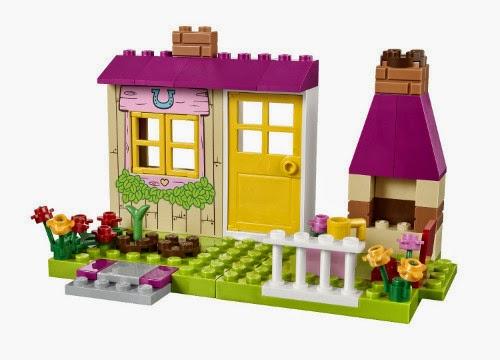 Libros y juguetes 1demagiaxfa toys lego juniors for Jardines de poni