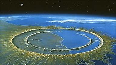 a study on the impact of the chicxulub on the mass extinction of the k t The cretaceous-tertiary boundary (ktb) mass extinction is primarily known for   research on the physical and biological events at and near the kt boundary.