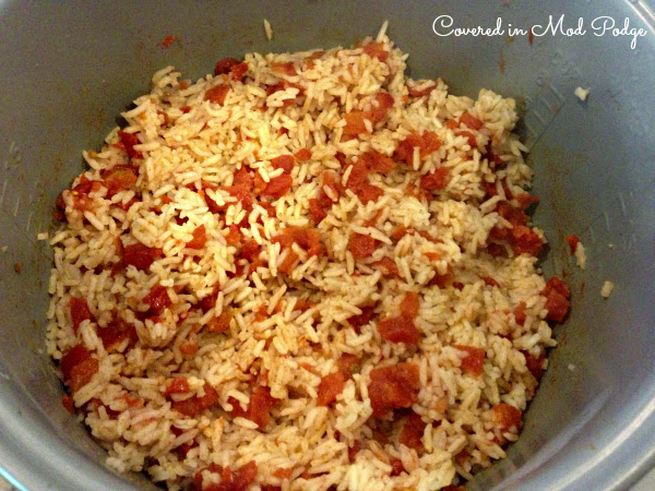 Easy Rice Cooker Spanish Rice Or Getting Dinner On The Table As Quickly As Possible