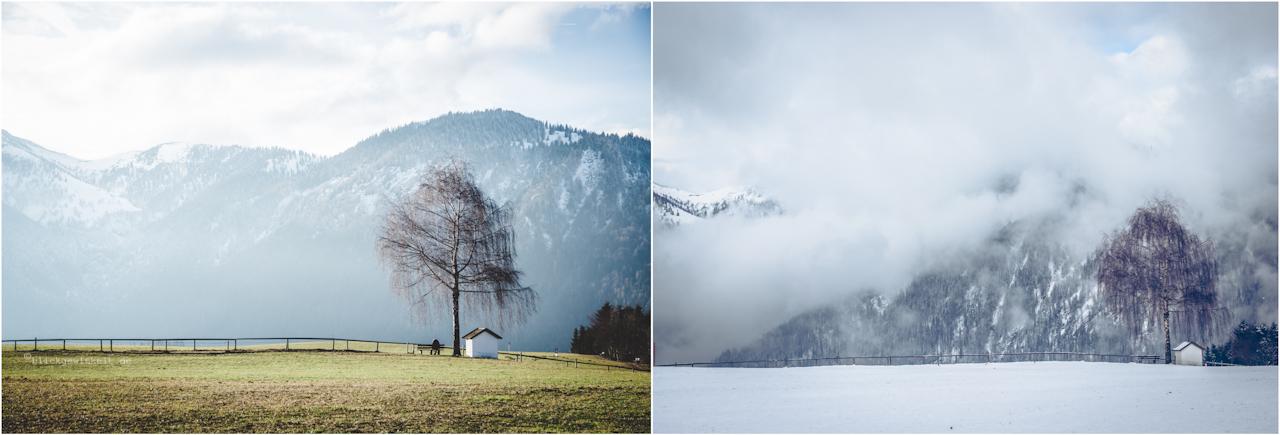 Jahreszeitenzauberei: Von Grün zu Weiß im Alpbachtal