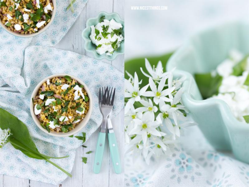 Food Photography: Ebly mit Bärlauch und Ziegenfrischkäse