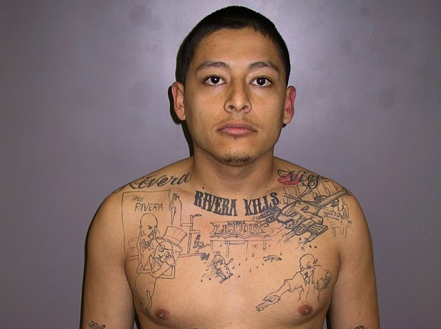 gang related tattoos. a gang-related shooting,