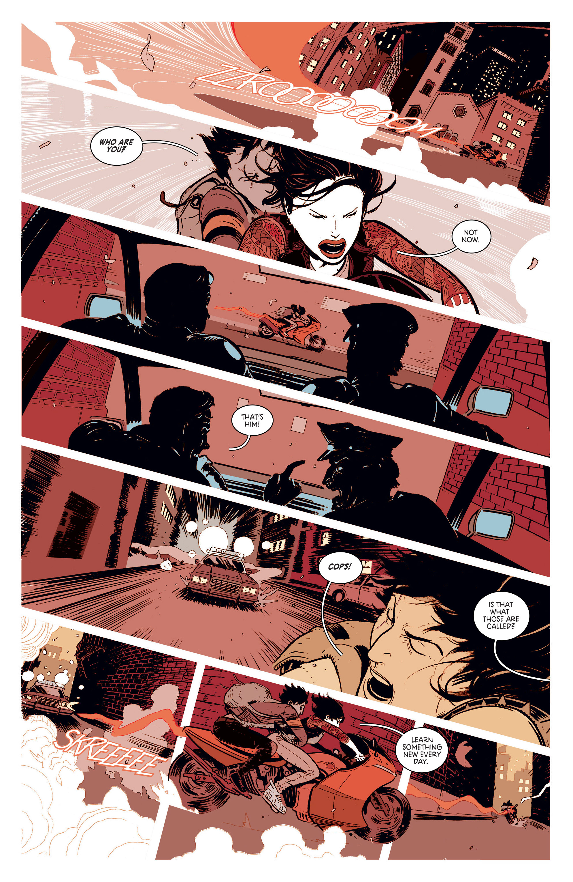 Read online Deadly Class comic -  Issue #1 - 16