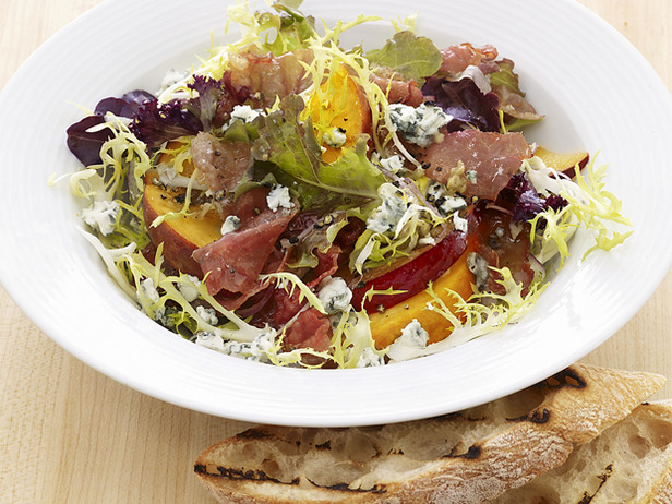 My Favorite Things: Fruit and Gorgonzola Salad with Prosciutto